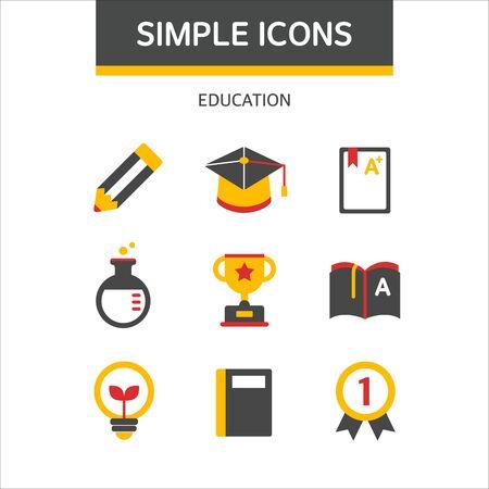 simple: education simple icon