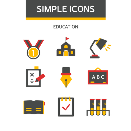 psd: education simple icon