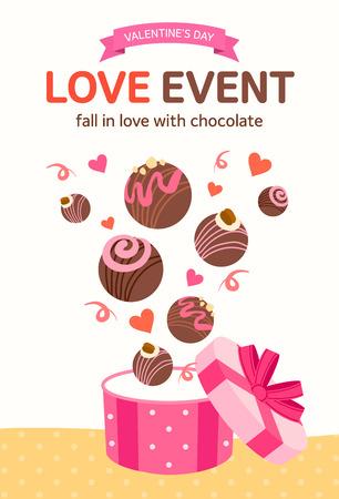 typo: Valentines Day illustration Illustration