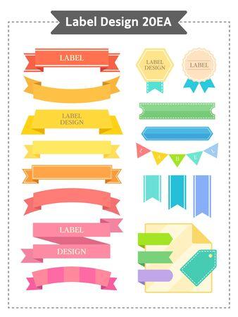 illust: Vector label illustration