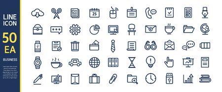 conjugation: business line icon