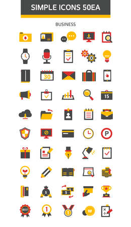 simple: business simple icon