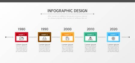 conjugation: Business Info graphics Illustration