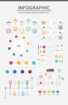 Info graphic illustration