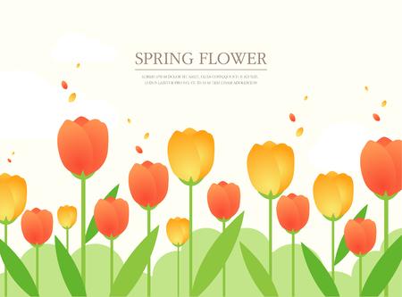 spring: spring illustration Illustration