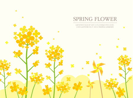 spring illustration 向量圖像