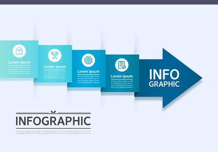conjugation: Business Info graphic Design