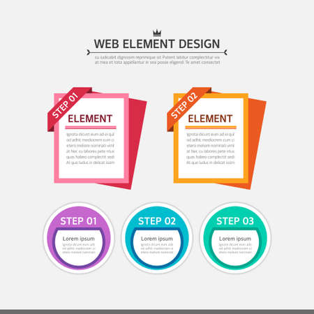 conjugation: Web element design