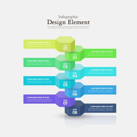 graphic illustration: Info graphic illustration Illustration