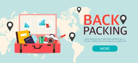 community event: backpacking event Design