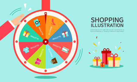 shopping Illustrations Illustration