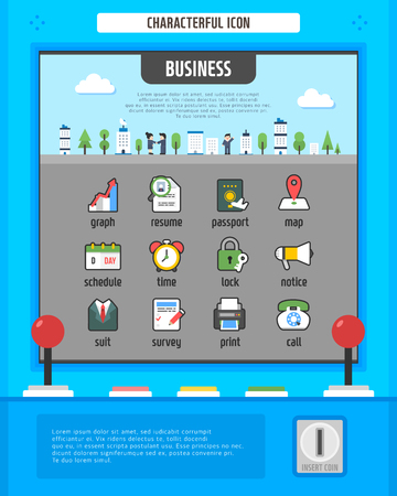Business Simple Icon Set