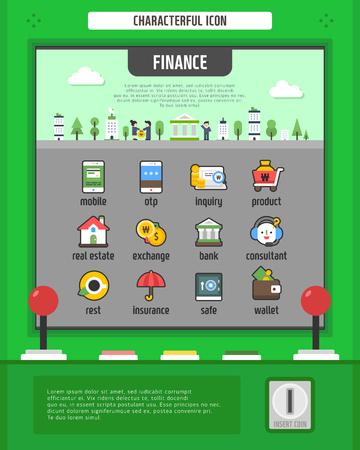 simple: Finance Simple Icon Set
