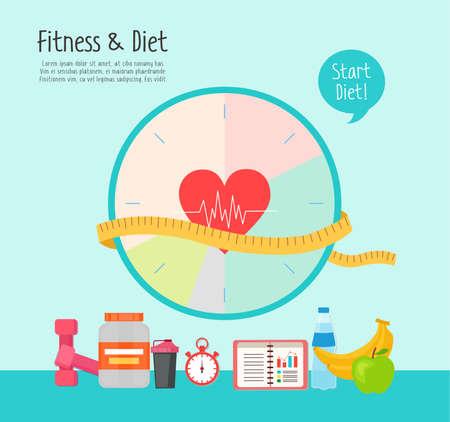 피트니스 다이어트 그림