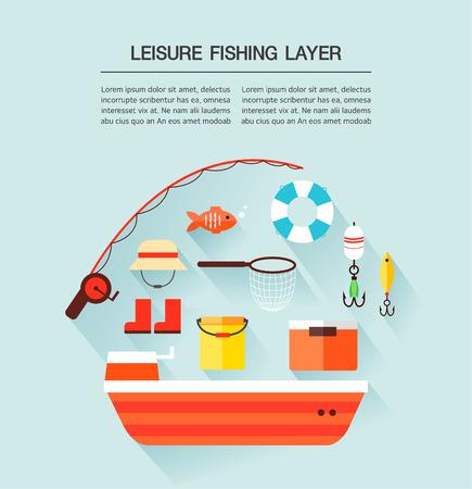 bait box: leisure fishing Layer