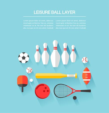 utilization: leisure ball Layer