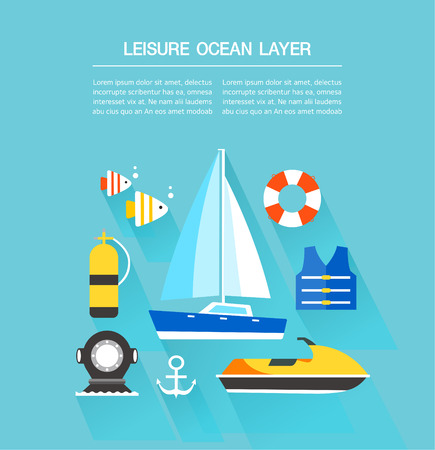 life jackets: leisure Ocean Layer