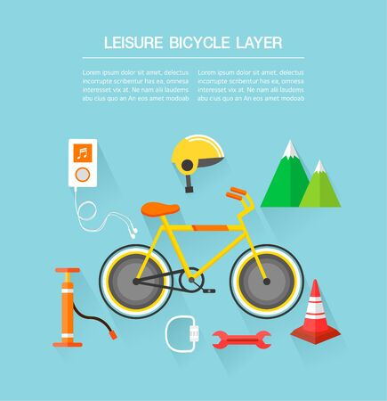 utilization: leisure bicycle Layer