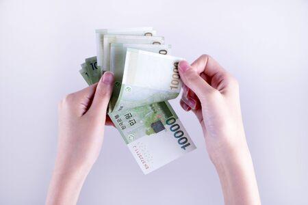 Zuid-Koreaanse won munt