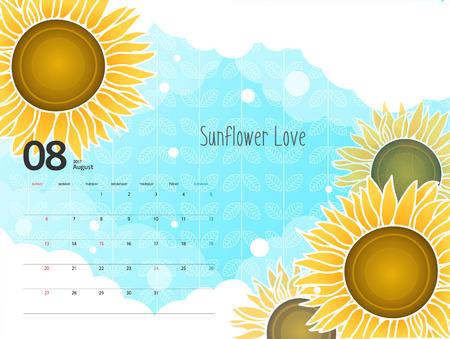 mostly: 2017 Calendar Design Illustration
