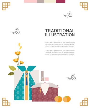 traditionele illustratie