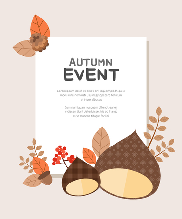 Autumn Event Illustration