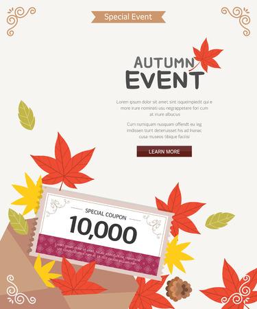 event: Autumn Event Illustration