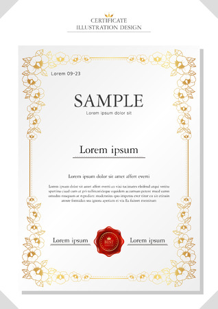 utilization: certificate illustration Illustration