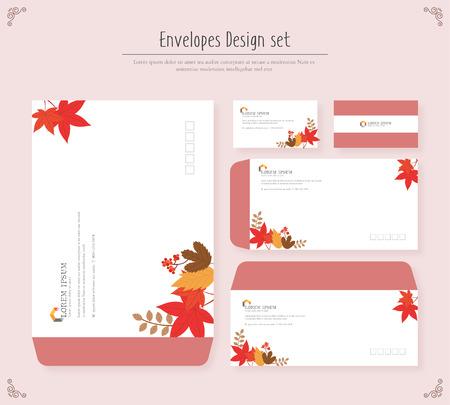 envelope design: envelope Design set