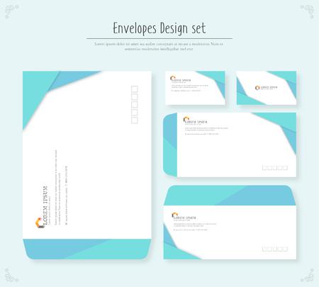 envelope Design set