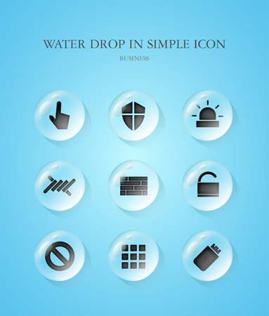 simple: Business Simple Icon Set