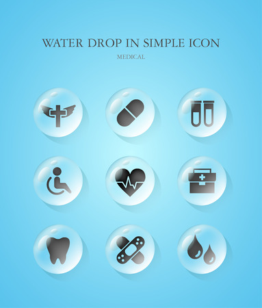 simple: Medical Simple Icon Set