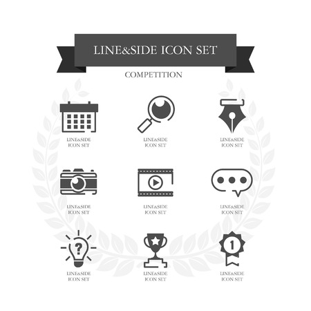 simple: Competition Simple icon set