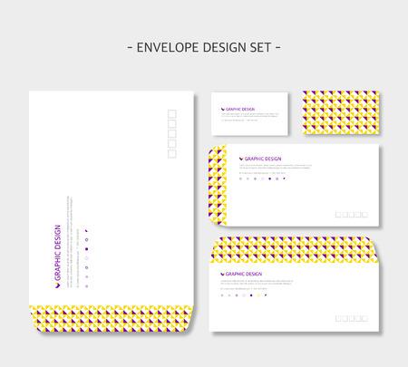 envelope design: envelope design Illustration