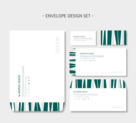 design: envelope design Illustration