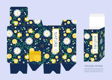 package design: Pattern Package Design Illustration