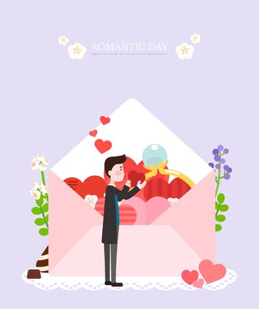 coupling: Love illustration