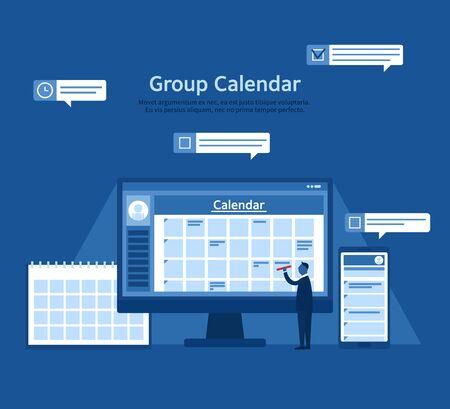 groupware: Groupware illustration