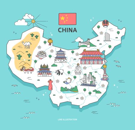 China Travel Landmark Collection