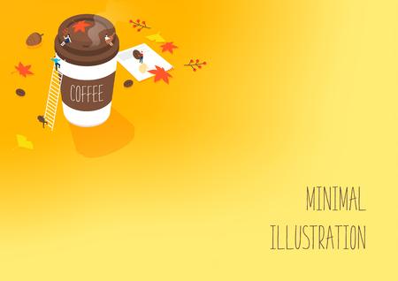 Minimal illustration of autumn
