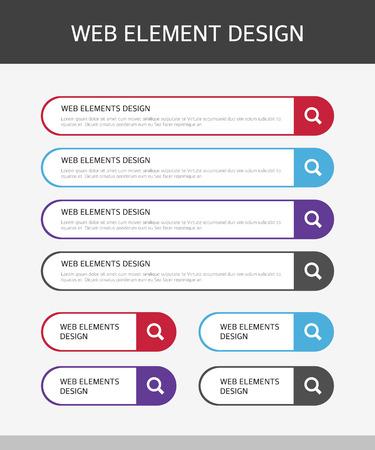 Web Elements Design Set