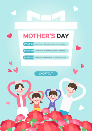 Mother's Day Illustration Stock Illustratie