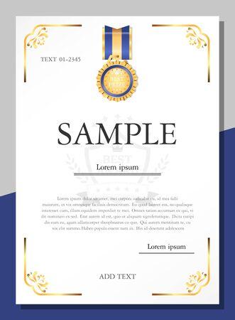 Entwurfsvorlage für Zertifikate