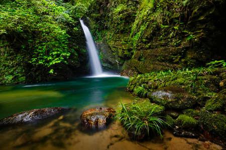 waterfall scenery Stok Fotoğraf