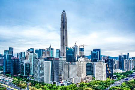 Shenzhen skyline Banque d'images - 76027132