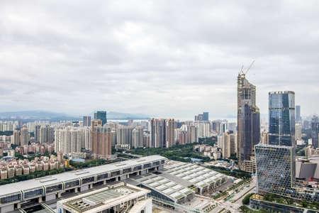 highend: Shenzhen skyline