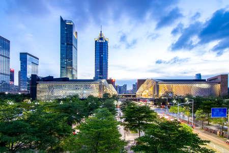 Shenzhen Futian night view