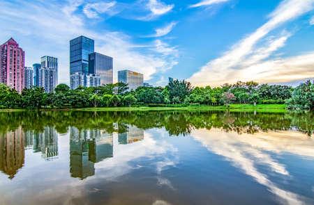 highend: Shenzhen Lian Hua mountain scenery
