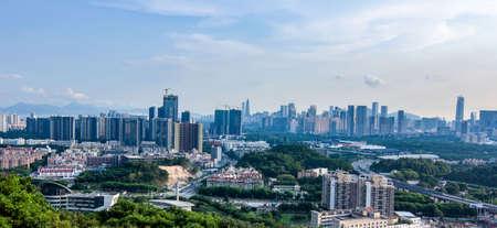 highend: Shenzhen Nanshan night view