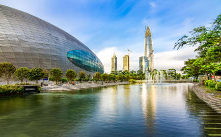 residential construction: Houhai Shenzhen Editorial